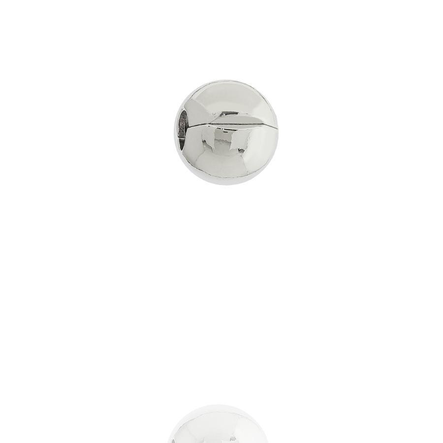 berloque trava pulseira lisa