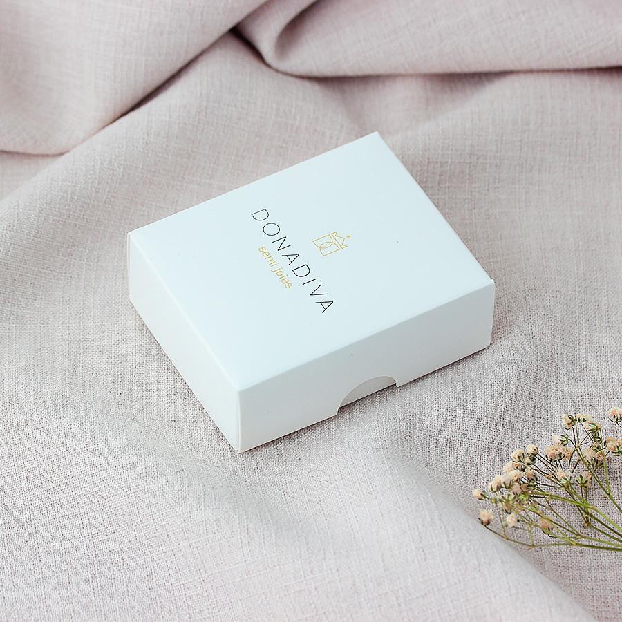 caixinha presente donadiva pequeno estojo brilho
