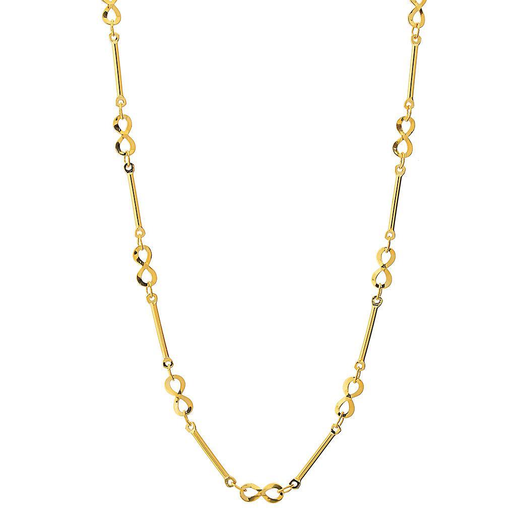 colar choker curto infinitos dourado