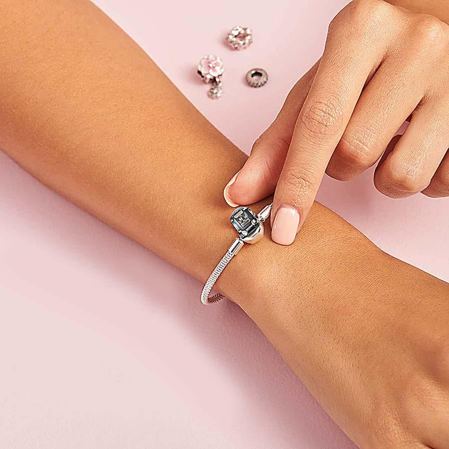 pulseira berloque 17 cm