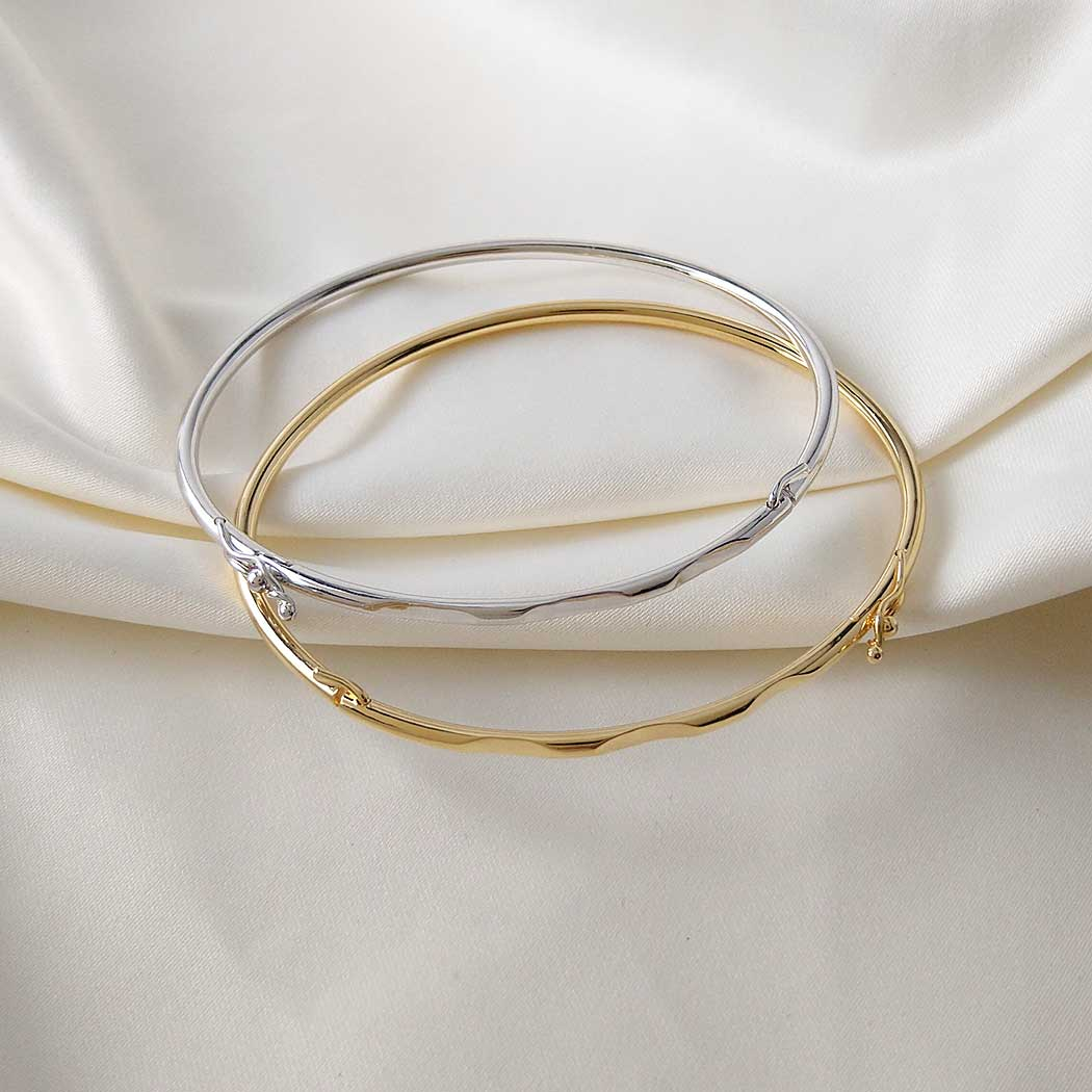 pulseira bracelete algema dourado
