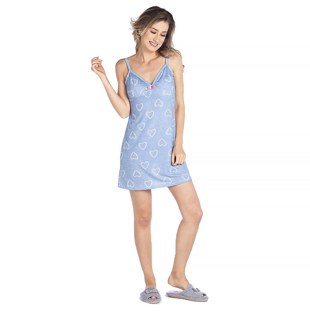 Pijama Feminino Vairelli Verao Isadora  - Vairelli Chinelos Pijamas Robes