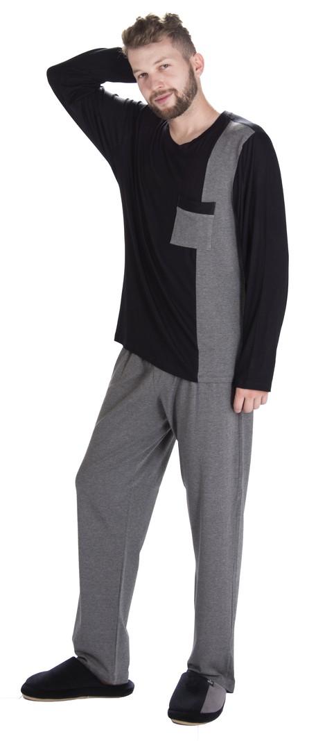 Pijama Vairelli Inverno Viscolycra Léo