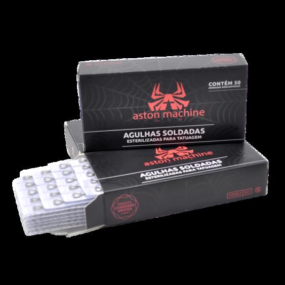 AGULHA ASTON PINTURA RS .12 (CX C/ 50) - 1207RS