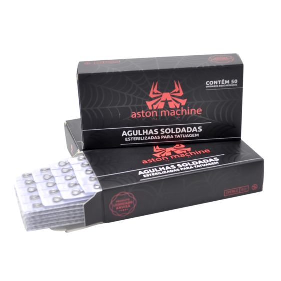 AGULHA ASTON PINTURA RS .12 (CX C/ 50) - 1209RS
