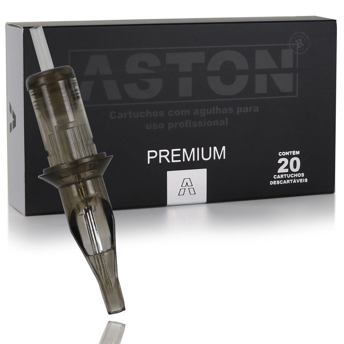 CAIXA CARTUCHO ASTON PREMIUM PINTURA MG (20 UN) - 1017MG