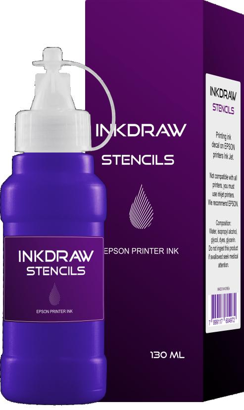 INKDRAW STENCILS - TINTA PARA DECALQUE - 130ML