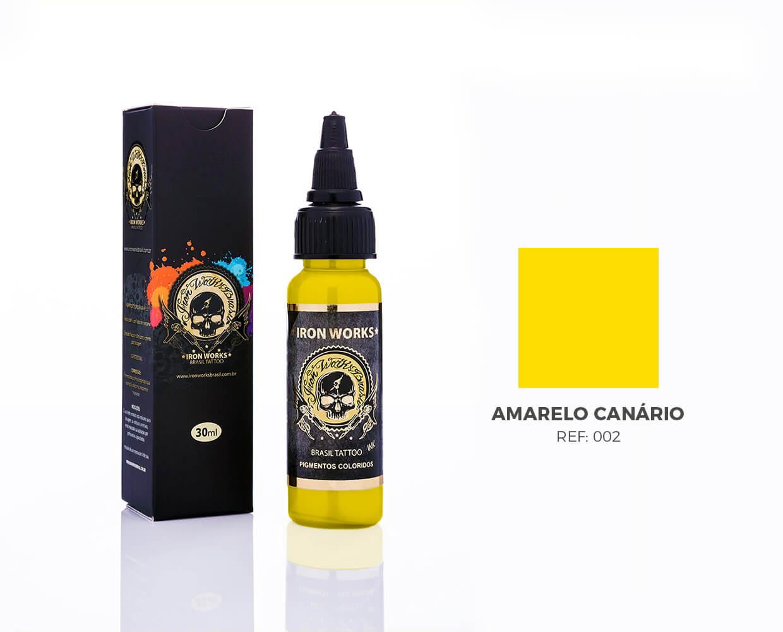 IRON WORKS AMARELO CANÁRIO 30ML