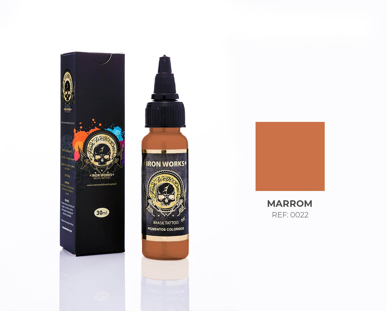 IRON WORKS MARROM 30ML
