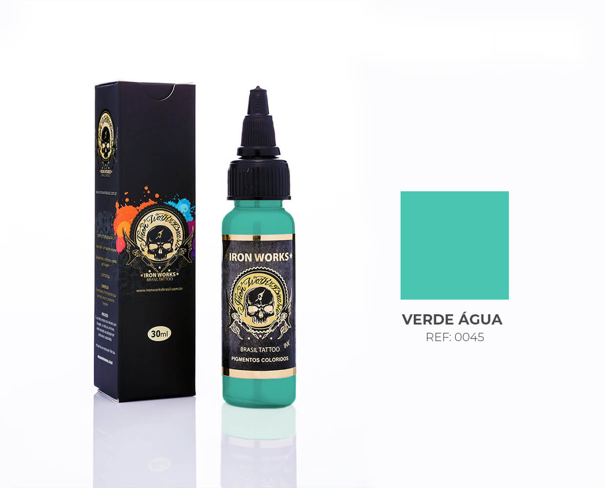 IRON WORKS VERDE ÁGUA 30ML