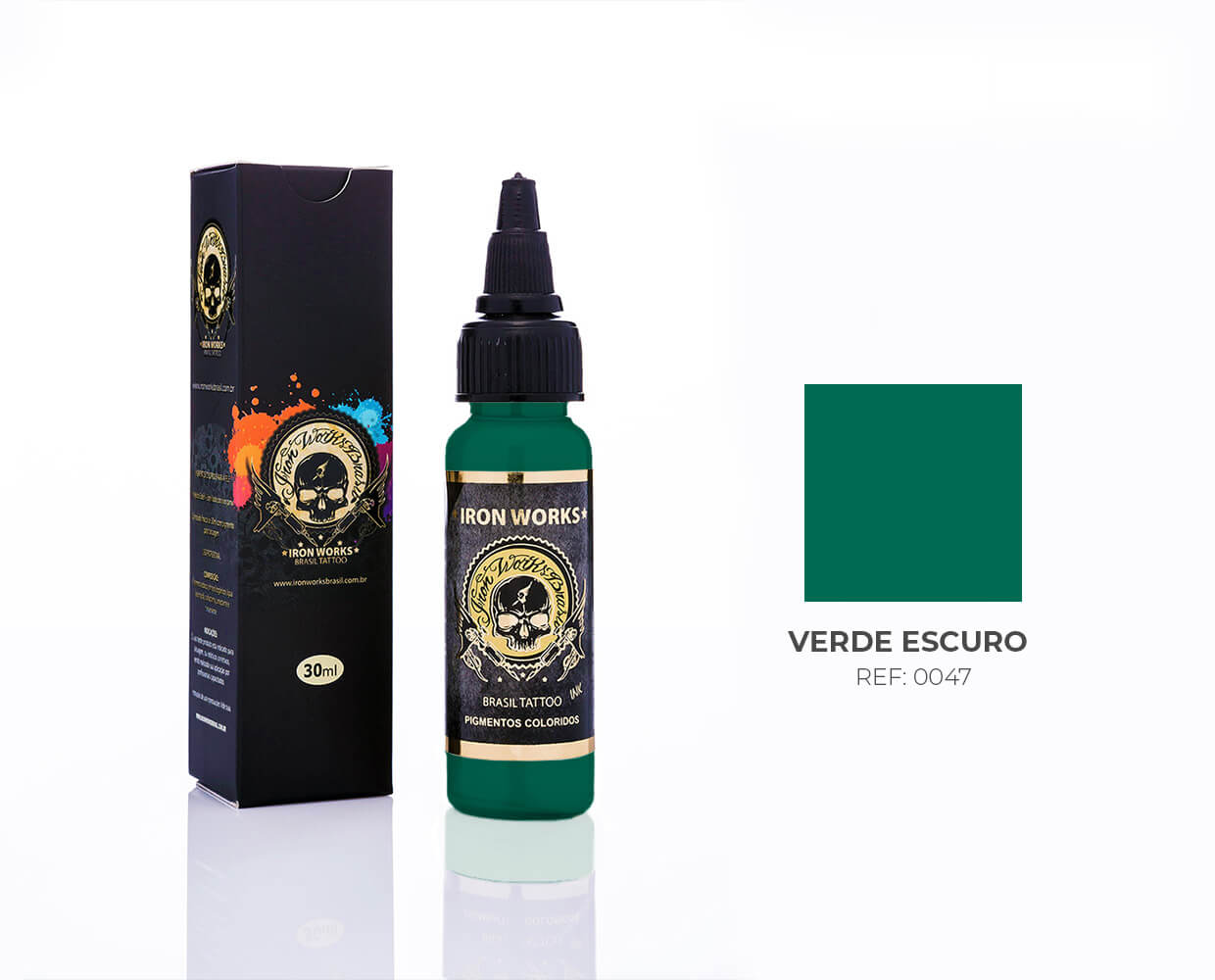 IRON WORKS VERDE ESCURO 30ML