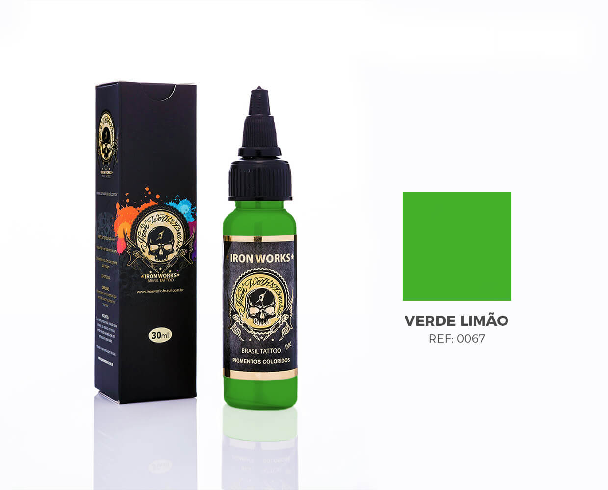 IRON WORKS VERDE LIMÃO 30ML