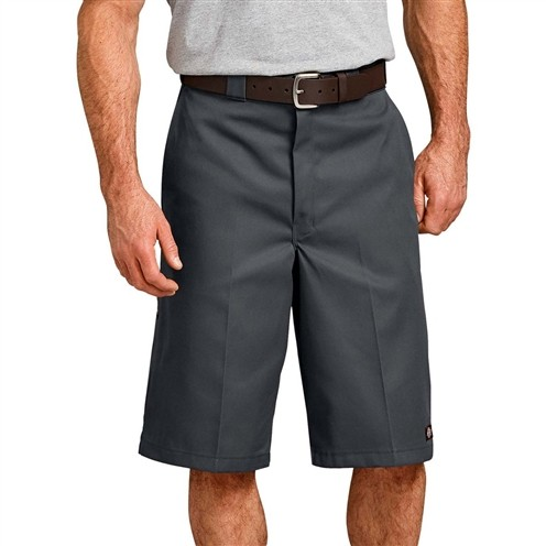 Bermuda Dickies Loose Fit Multi-Use Pocket Cinza Chumbo