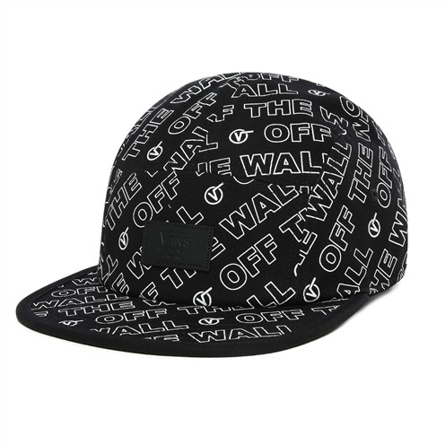 Boné Vans Davis 5 Panel Black Dimension