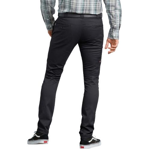 Calça Dickies Flex Skinny Straight Fit Preta