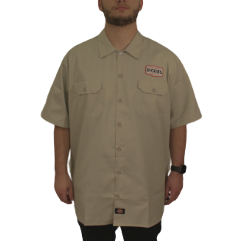 Camisa Dickies Twill Soft Areia1922 Patch