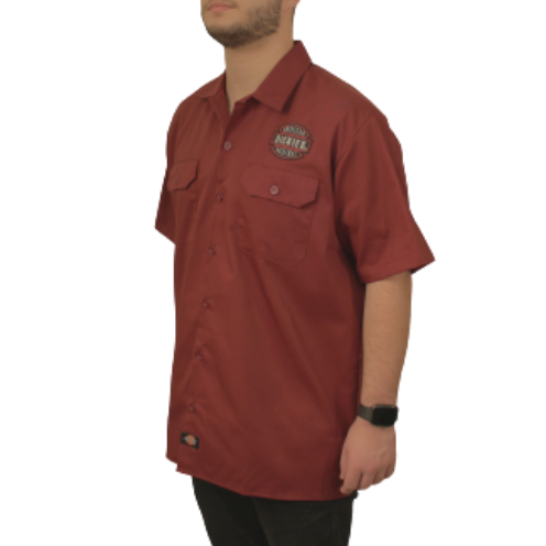 Camisa Dickies Twill Soft BordôAmerican Patch