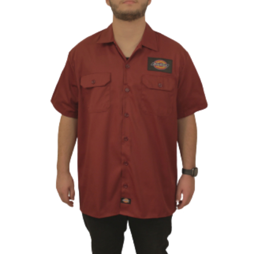 Camisa Dickies Twill Soft BordôClassic Patch