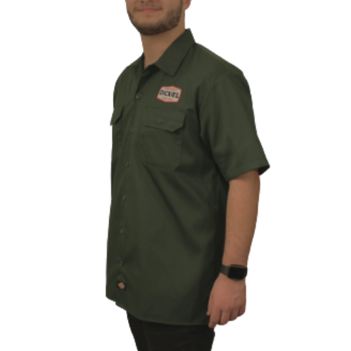 Camisa Dickies Twill Soft Militar 1922 Patch
