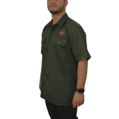Camisa Dickies Twill Soft MilitarAmerican Patch