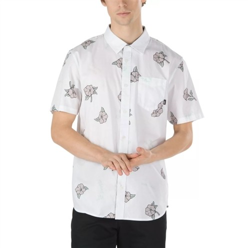 Camisa Vans Thank You Floral White