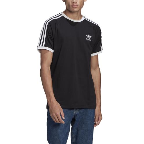Camiseta Adidas 3 Stripes Black