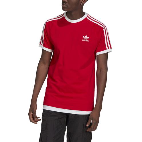 Camiseta Adidas 3 Stripes Tee Scarle