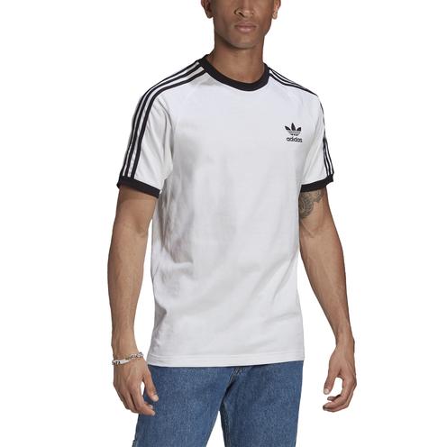 Camiseta Adidas 3 Stripes Tee White