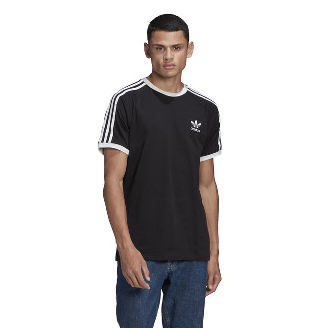 Camiseta Adidas Adicolor 3 Stripes Preta