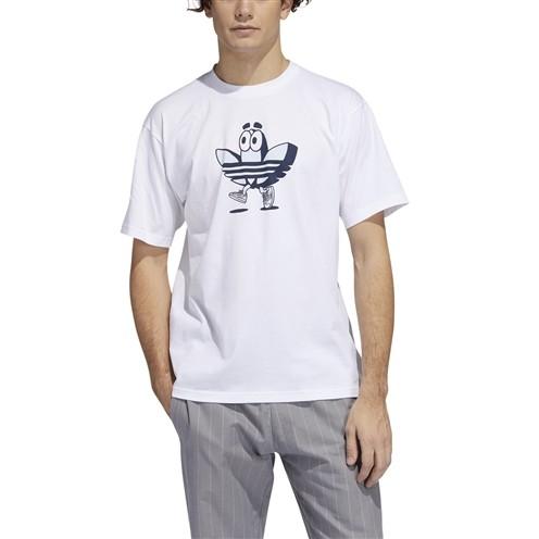 Camiseta Adidas Buddy Tee Branca