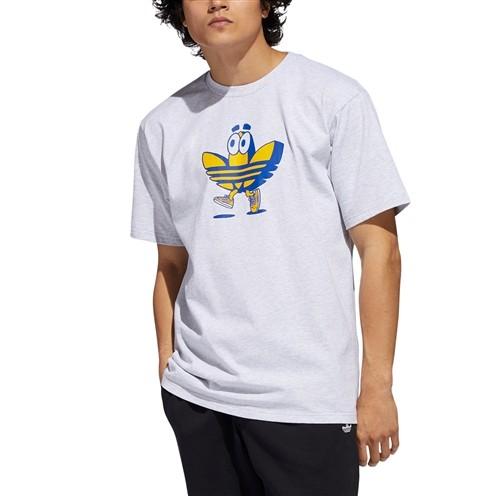Camiseta Adidas Buddy Tee Cinza