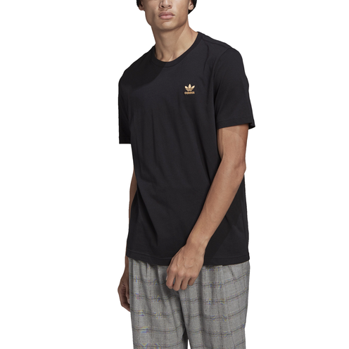 Camiseta Adidas Essentials Black/Orabru