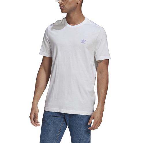Camiseta Adidas Essentials White/Lpurpl