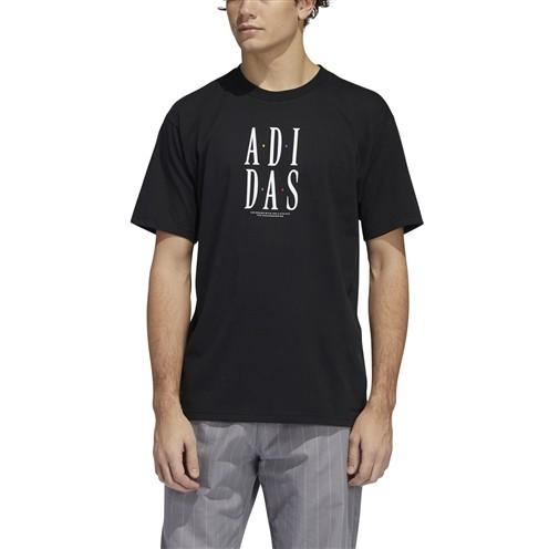 Camiseta Adidas Stacked Tee Preta