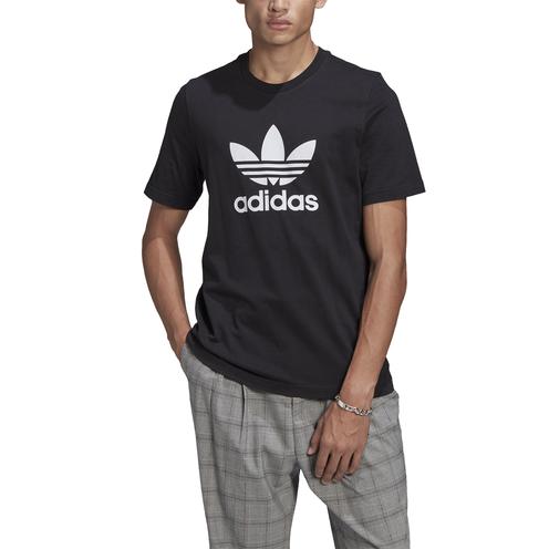Camiseta Adidas Trefoil Black/White