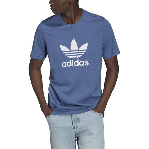 Camiseta Adidas Trefoil Creblu/White