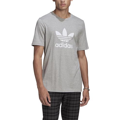 Camiseta Adidas Trefoil Mgrey/White