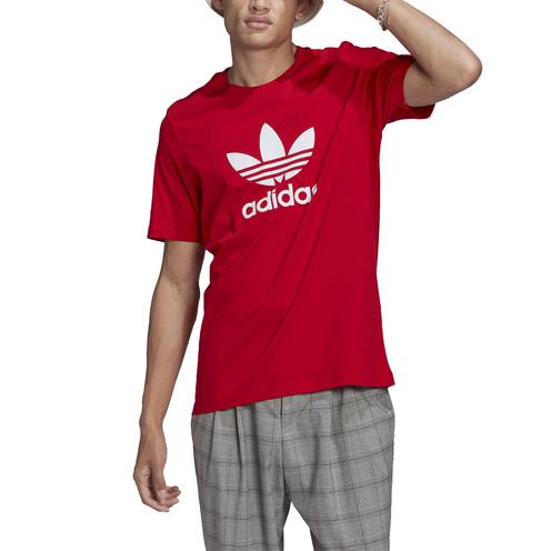 Camiseta Adidas Trefoil Scarle/White