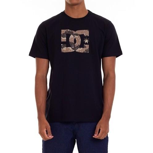 Camiseta DC Shoes Star Camo Preta