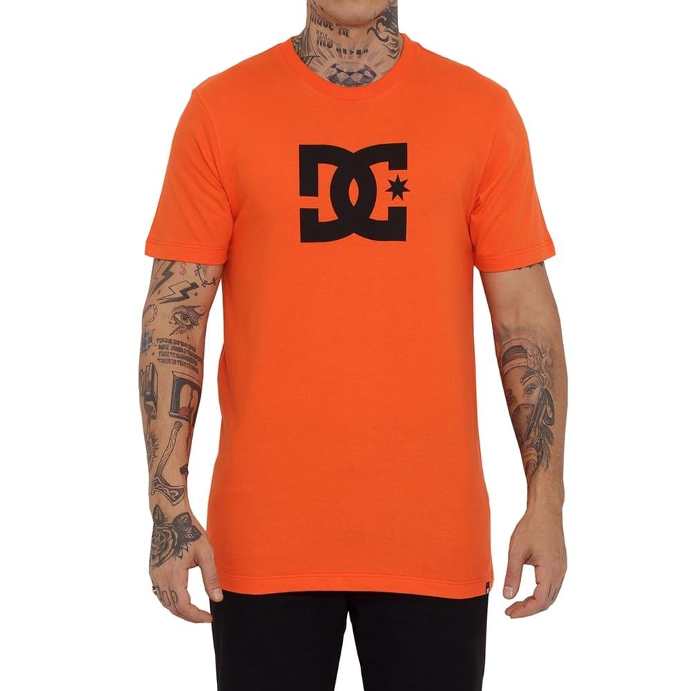 Camiseta DC Shoes Star Laranja