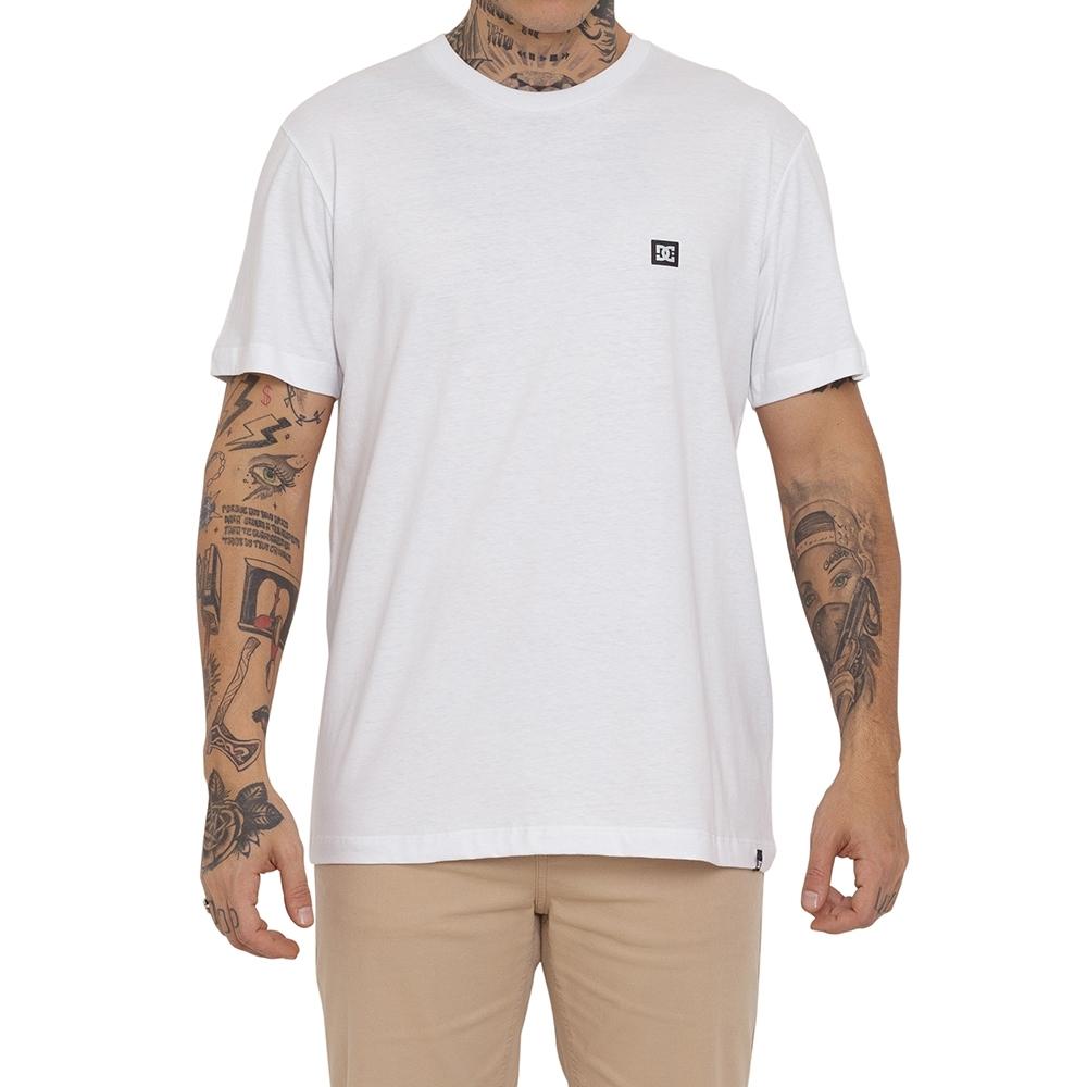 Camiseta DC Shoes Supertransfer Branca
