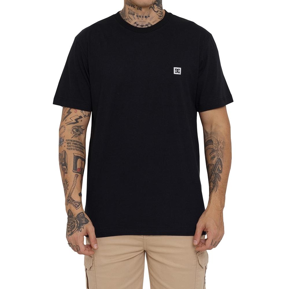 Camiseta DC Shoes Supertransfer Preta
