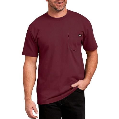 Camiseta Dickies Heavyweight Bordo