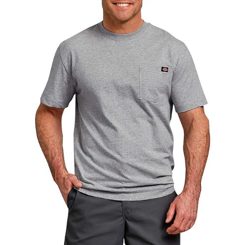 Camiseta Dickies Heavyweight Cinza Mescla