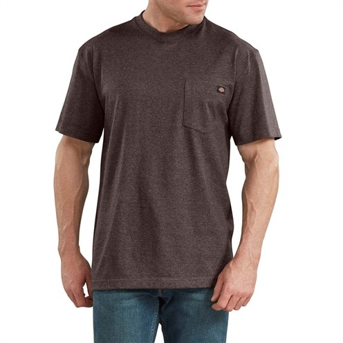 Camiseta Dickies Heavyweight Marrom Mescla
