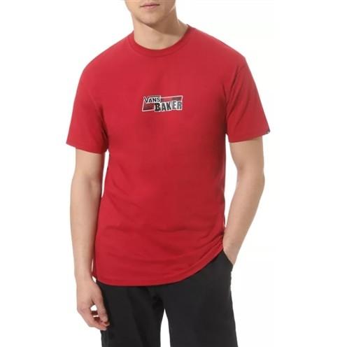 Camiseta MN Vans x Baker Speed Check SS Tee Cardi Vermelha