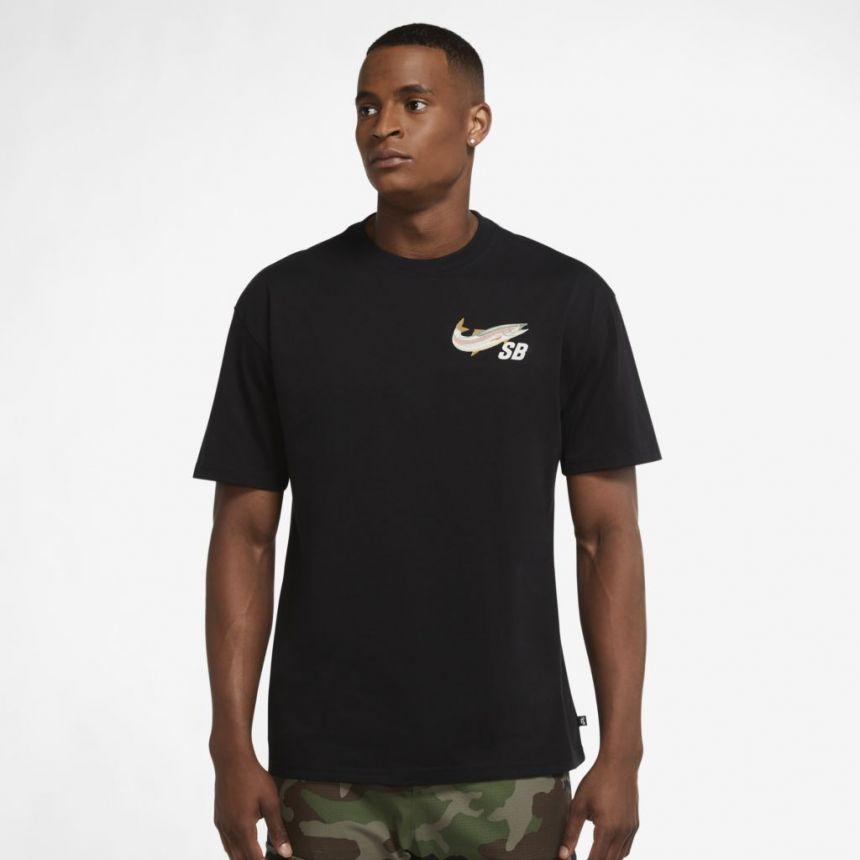 Camiseta Nike SB Daan Van Der Linden Preta