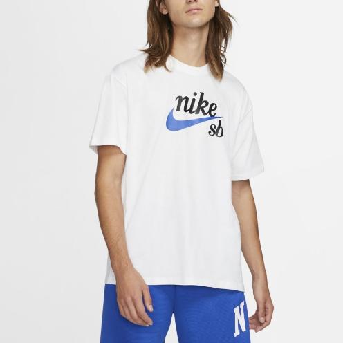 Camiseta Nike SB Tee HBR Branca