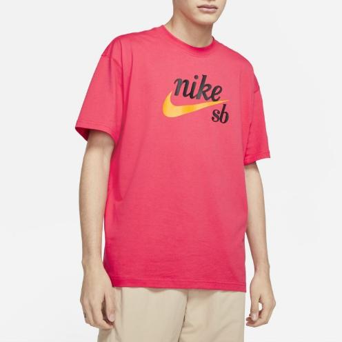 Camiseta Nike SB Tee HBR Vermelha