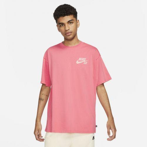 Camiseta Nike SB Tee Mini Logo Rosa